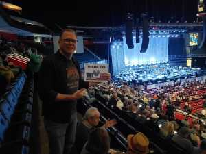 Brian attended The Who: Moving on - Pop on May 28th 2019 via VetTix