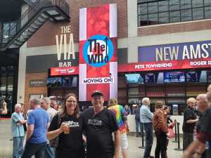 LORI attended The Who: Moving on - Pop on May 28th 2019 via VetTix