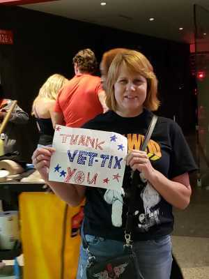 Dennis attended The Who: Moving on - Pop on May 28th 2019 via VetTix