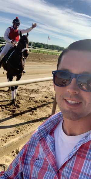 Kevin attended The 151st Belmont Stakes - Horse Racing on Jun 8th 2019 via VetTix