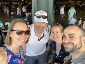 Frank attended The 151st Belmont Stakes - Horse Racing on Jun 8th 2019 via VetTix
