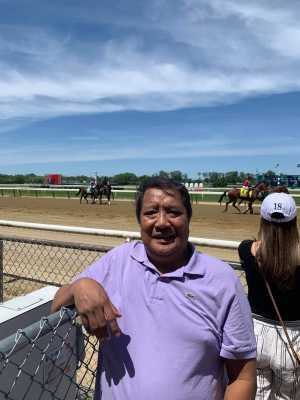 Gilmore attended The 151st Belmont Stakes - Horse Racing on Jun 8th 2019 via VetTix