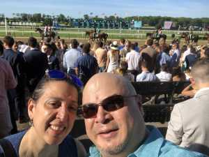 Oscar attended The 151st Belmont Stakes - Horse Racing on Jun 8th 2019 via VetTix