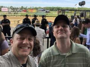 Jeffrey attended The 151st Belmont Stakes - Horse Racing on Jun 8th 2019 via VetTix