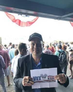 Scott attended The 151st Belmont Stakes - Horse Racing on Jun 8th 2019 via VetTix