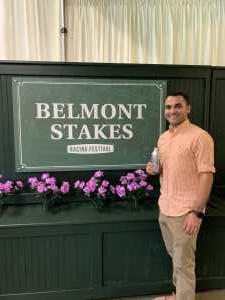 Kristopher attended The 151st Belmont Stakes - Horse Racing on Jun 8th 2019 via VetTix
