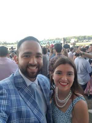 Tracy attended The 151st Belmont Stakes - Horse Racing on Jun 8th 2019 via VetTix