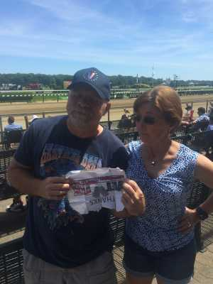 Robert attended The 151st Belmont Stakes - Horse Racing on Jun 8th 2019 via VetTix