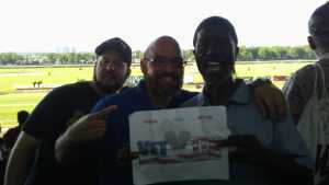 Charles attended The 151st Belmont Stakes - Horse Racing on Jun 8th 2019 via VetTix