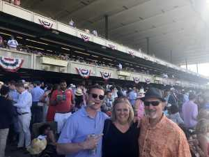 Shane attended The 151st Belmont Stakes - Horse Racing on Jun 8th 2019 via VetTix