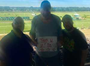 arthur attended The 151st Belmont Stakes - Horse Racing on Jun 8th 2019 via VetTix