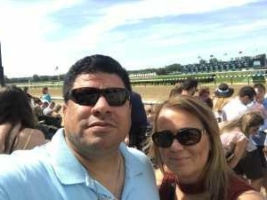 Javier attended The 151st Belmont Stakes - Horse Racing on Jun 8th 2019 via VetTix