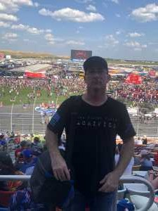 Gregory attended Coca Cola 600 - Monster Energy NASCAR Cup Series on May 26th 2019 via VetTix