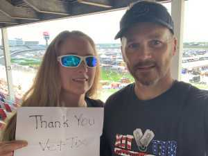 Curby attended Coca Cola 600 - Monster Energy NASCAR Cup Series on May 26th 2019 via VetTix