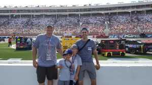 Daniel attended Coca Cola 600 - Monster Energy NASCAR Cup Series on May 26th 2019 via VetTix
