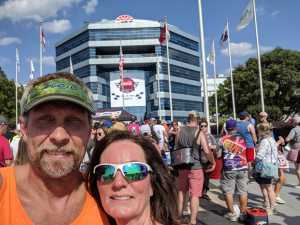 Larry attended Coca Cola 600 - Monster Energy NASCAR Cup Series on May 26th 2019 via VetTix