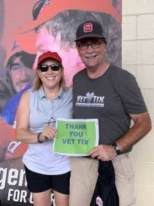 John attended Coca Cola 600 - Monster Energy NASCAR Cup Series on May 26th 2019 via VetTix