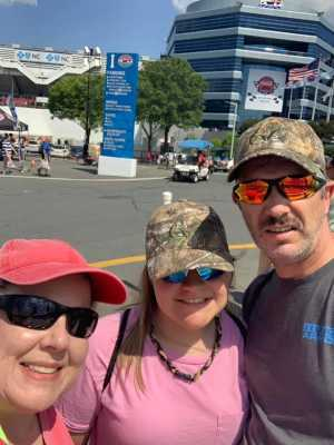Jeffrey attended Coca Cola 600 - Monster Energy NASCAR Cup Series on May 26th 2019 via VetTix