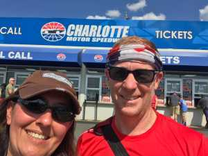 Jason attended Coca Cola 600 - Monster Energy NASCAR Cup Series on May 26th 2019 via VetTix
