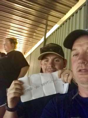 Steven attended Coca Cola 600 - Monster Energy NASCAR Cup Series on May 26th 2019 via VetTix