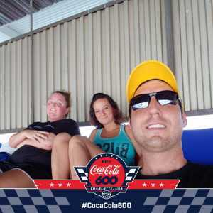 Micah attended Coca Cola 600 - Monster Energy NASCAR Cup Series on May 26th 2019 via VetTix