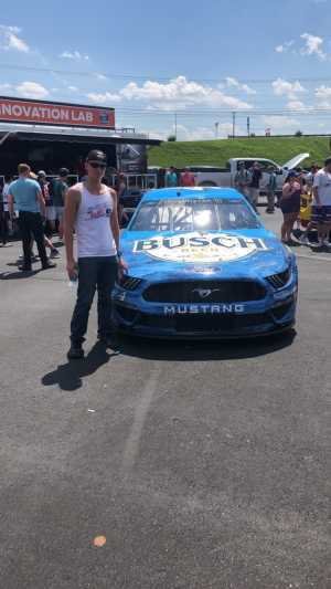 Joe  attended Coca Cola 600 - Monster Energy NASCAR Cup Series on May 26th 2019 via VetTix