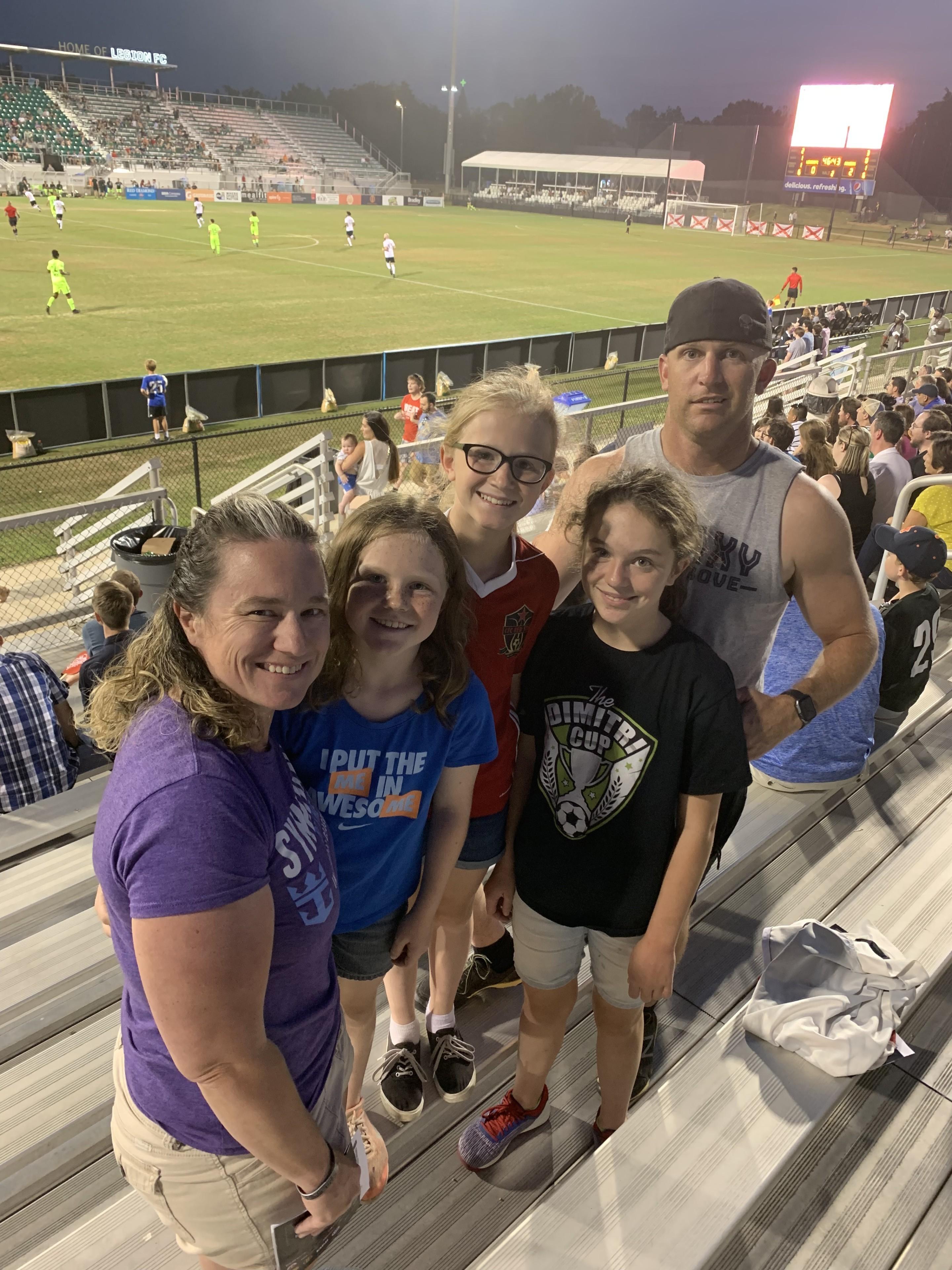 d1cebe320ca DREW attended Birmingham Legion FC vs. Tampa Bay Rowdies - USL on Jun 1st  2019
