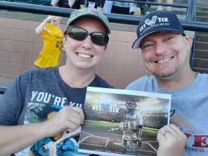Brian attended Altoona Curve vs. Harrisburg Senators - MiLB on Jun 19th 2019 via VetTix