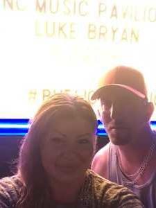LISA attended Luke Bryan: Sunset Repeat Tour 2019 - Country on Jun 2nd 2019 via VetTix