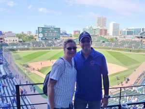 Benjamin attended Chicago Cubs vs. San Francisco Giants - MLB on Aug 22nd 2019 via VetTix