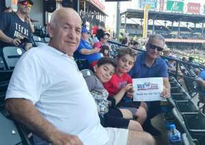 Jim attended Round Rock Express vs Omaha Storm Chasers - MiLB on Jun 30th 2019 via VetTix