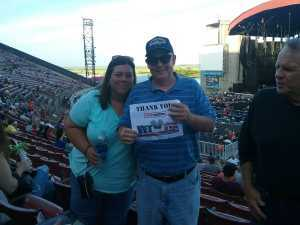 Eugene attended Bob Seger and the Silver Bullet Band - Pop on May 30th 2019 via VetTix