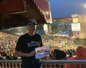 Scott attended Bob Seger and the Silver Bullet Band - Pop on May 30th 2019 via VetTix