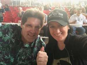 Katie attended Bob Seger and the Silver Bullet Band - Pop on May 30th 2019 via VetTix