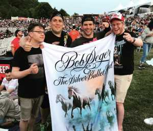 Adam attended Bob Seger and the Silver Bullet Band - Pop on May 30th 2019 via VetTix