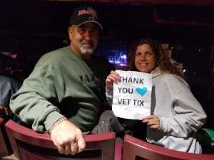 Louis attended Bob Seger and the Silver Bullet Band - Pop on May 30th 2019 via VetTix