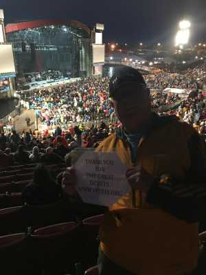 Francis attended Bob Seger and the Silver Bullet Band - Pop on May 30th 2019 via VetTix