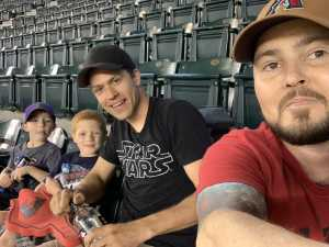 Ben attended Arizona Diamondbacks vs. Los Angeles Dodgers - MLB on Jun 5th 2019 via VetTix