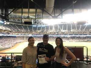 Sanford  attended Arizona Diamondbacks vs. Los Angeles Dodgers - MLB on Jun 5th 2019 via VetTix