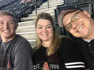 Eric attended Arizona Diamondbacks vs. Los Angeles Dodgers - MLB on Jun 5th 2019 via VetTix