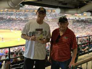 Steve attended Arizona Diamondbacks vs. Los Angeles Dodgers - MLB on Jun 5th 2019 via VetTix