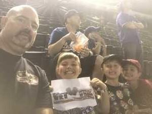 Jeremy attended Arizona Diamondbacks vs. Los Angeles Dodgers - MLB on Jun 5th 2019 via VetTix