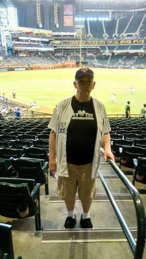 David attended Arizona Diamondbacks vs. Los Angeles Dodgers - MLB on Jun 5th 2019 via VetTix