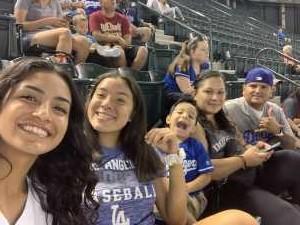 Jose attended Arizona Diamondbacks vs. Los Angeles Dodgers - MLB on Jun 5th 2019 via VetTix