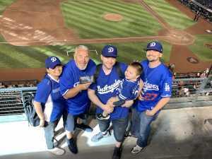 Barry attended Arizona Diamondbacks vs. Los Angeles Dodgers - MLB on Jun 5th 2019 via VetTix