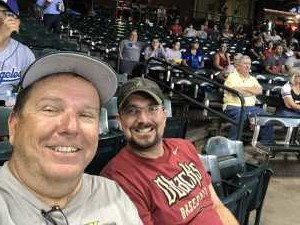 Michael attended Arizona Diamondbacks vs. Los Angeles Dodgers - MLB on Jun 5th 2019 via VetTix