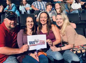 Robert J attended Trace Adkins & Clint Black- Theatre Grand Prairie on Jun 16th 2019 via VetTix