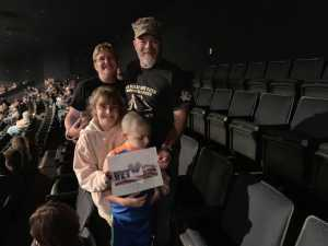 Jeffrey  attended Trace Adkins & Clint Black- Theatre Grand Prairie on Jun 16th 2019 via VetTix