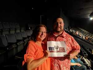 Johnny attended Trace Adkins & Clint Black- Theatre Grand Prairie on Jun 16th 2019 via VetTix