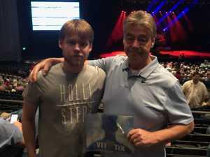Richard attended Trace Adkins & Clint Black- Theatre Grand Prairie on Jun 16th 2019 via VetTix